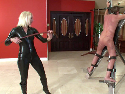 slave male Mistress whipping