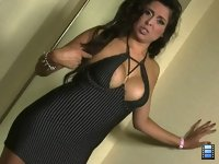 Goddess Jasmine: Because she caught you drooling over her massive boobs, Jasmine sends you to your knees..
