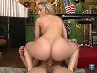 Bootylicious Alexis Texas: We had to see how good her ass looked swinging at eye level, and boy did it look amazing.