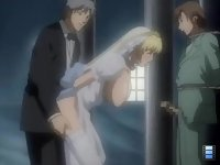 Shin Kyohaku 2: However there is a figure looking at their acts. Great Hentai Bride sex!!