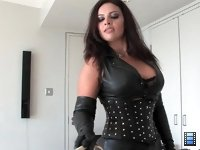 300: 300 proves not to be enough to satisfy Mistress Ezada, so the slave feels the full force of her wrath for considerably more than that.
