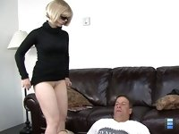 Married Traitress: To his surprise, that was the end. She told him she needs to go and left him totally discontented. At this moment he understood what wrong while he licked her ass.